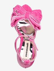 Custommade - Marita Velvet - sandalen met hak - fuchsia pink - 3
