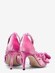 Custommade - Marita Velvet - sandalen met hak - fuchsia pink - 4