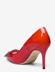 Custommade - Aljo Patent Crystal Bow - klassiska pumps - persian red - 2