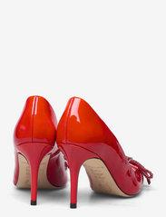Custommade - Aljo Patent Crystal Bow - klassiska pumps - persian red - 4