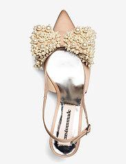 Custommade - Alima Pearl - sling backs - cuban sand - 3