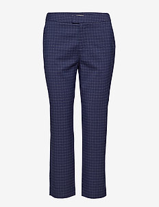 Adia - straight leg trousers - patriot blue
