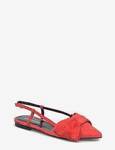 Enise - ballerinas - samba red