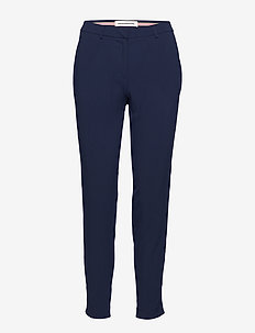 Muno - straight leg trousers - night sky