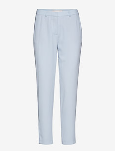 Muno pipping - straight leg trousers - skyway