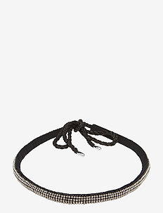 Abene crystal - sirot kaulakorut - anthracite black