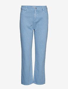 Avia - wide leg jeans - blue yonder