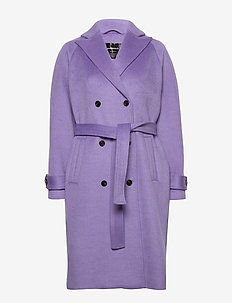 Suri by nbs - wool coats - dahlia purple