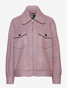 Nadja by nbs - wool jackets - peachskin