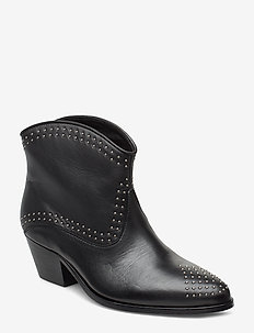 Angel Studs - ankle boots with heel - anthracite black