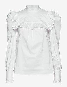 Vivica - langärmlige blusen - white