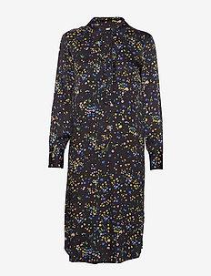 Vicktoria - shirt dresses - anthracite black