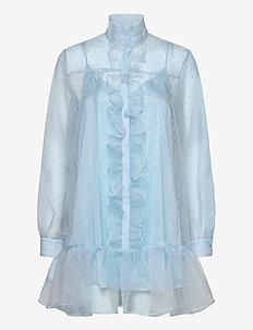 Lil - skjortekjoler - chambray blue