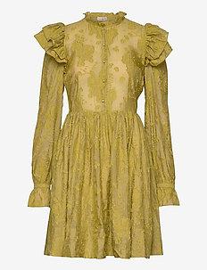 Kimsa - korta klänningar - olive oil