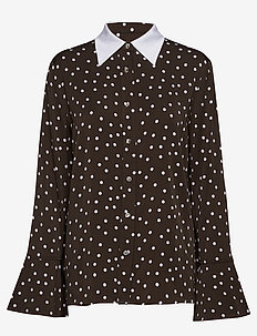 Jelis - langærmede skjorter - mole brown