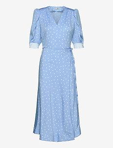 Jessie - midiklänningar - chambray blue