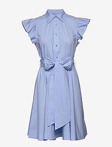 Lira - shirt dresses - chambray blue