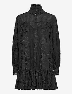 Elorie - shirt dresses - anthracite black