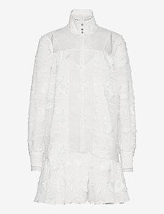 Elorie - blousejurken - whisper white