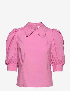 Dunya - långärmade blusar - fuchsia pink