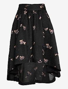 Tania - midi kjolar - anthracite black