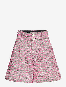 Aliba - shorts casual - black / pink