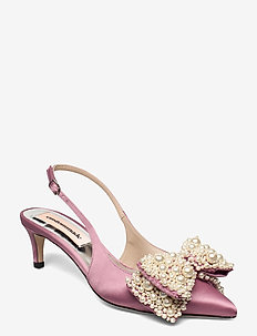 Alima Pearl - sling backs - sweet lilac
