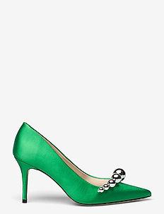 Aljo Mirror Ball - pumps - classic green