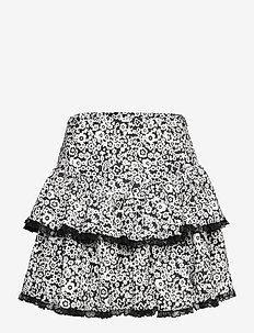Renna - korta kjolar - anthracite black