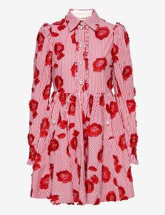 Lila Stripes - sukienki na codzień - lollipop