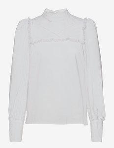 Delphi - palaidinės ilgomis rankovėmis - bright white