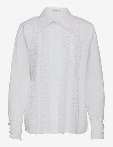 Bobbi - džinsiniai marškiniai - bright white