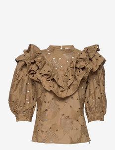 Didi - blouses met korte mouwen - ermine