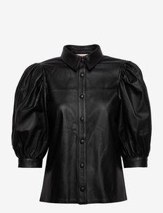 Kesa - jeansblouses - anthracite black