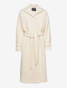 Idalene BY NBS - manteaux en laine - whisper white