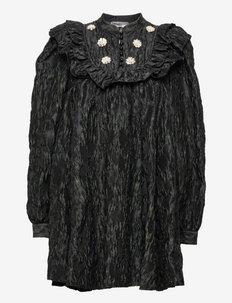 Karah BY NBS - robes de fête - anthracite black