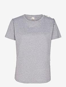Molly Pearl - t-shirts - grey melange