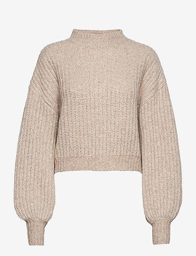 Tikka - sweaters - fungi brown