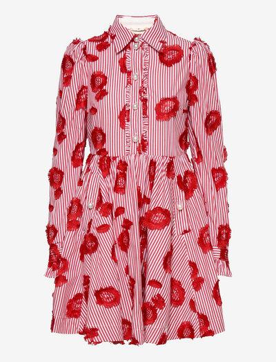 Lila Stripes - skjortklänningar - lollipop