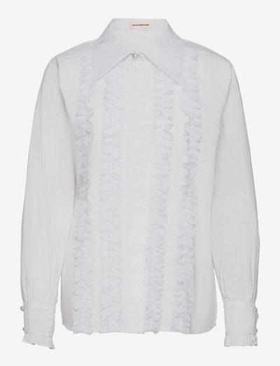 Bobbi - denimskjorter - bright white