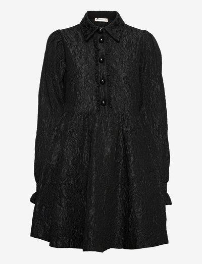 Lila - skjortklänningar - anthracite black