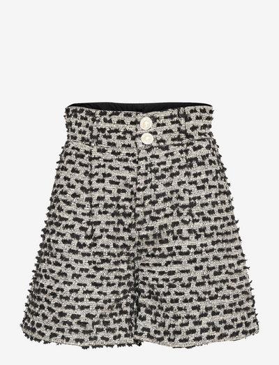 Aliba - paper bag shorts - anthracite black