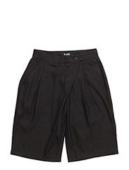 ADELA CULOTTE SHORTS - BLACK