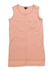LUISE LONG TOP - PEACH