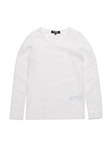 CIARA T-SHIRT L/S - OFF WHITE