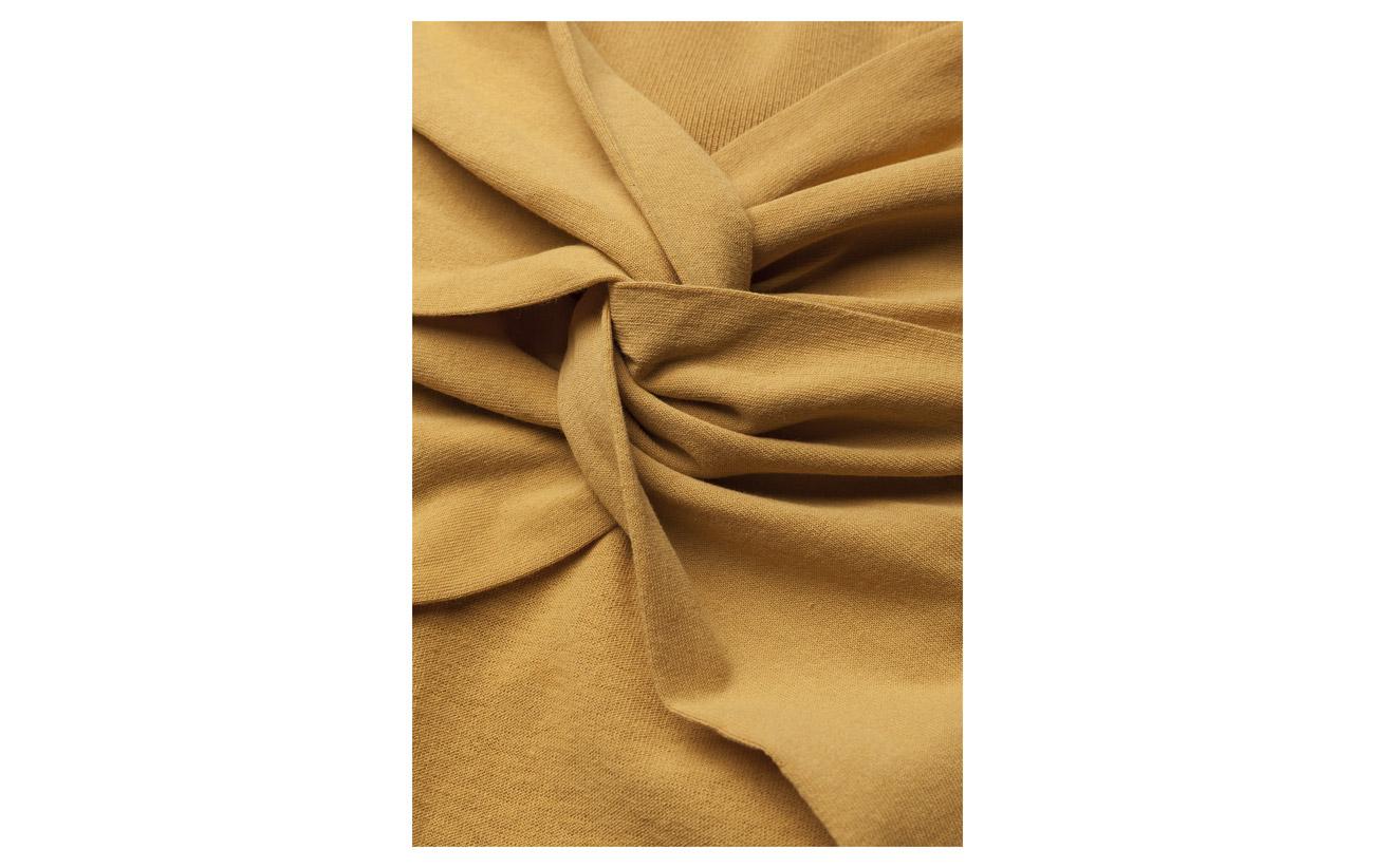 Dagmar Fabric Polyester Sweater Noreen 12 Polyamide Trims 88 Saffron 100 Main Coton SySr1HqW