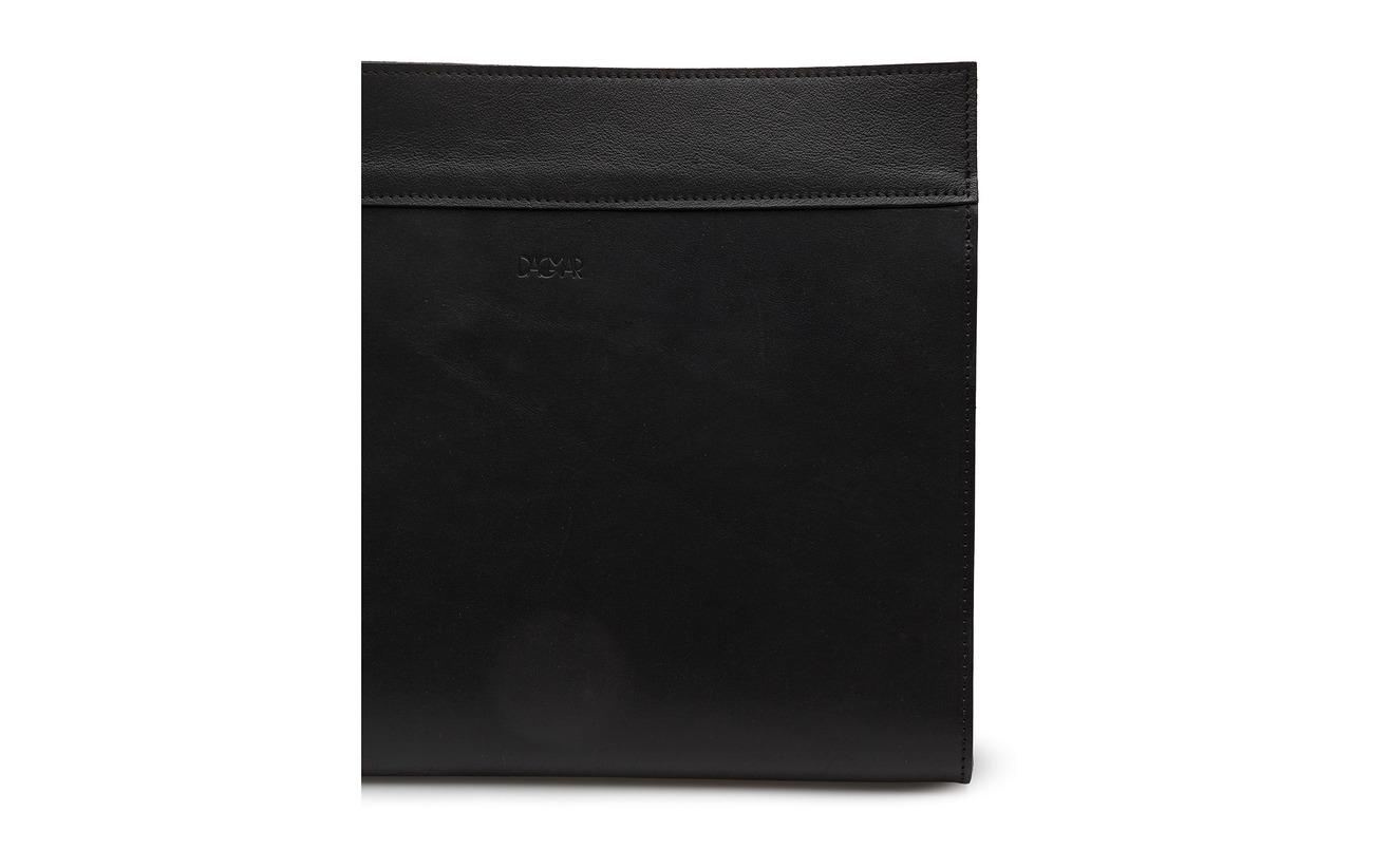 Black Clutch Dagmar 100 100 Black Vegetabletannedleather Dagmar Black Dagmar Clutch Vegetabletannedleather Clutch wznZqxY6