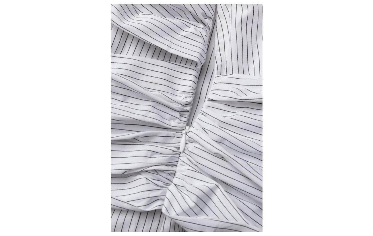 100 Bio Dagmar Caprice Stripe black White Coton Off 8XfBqf0