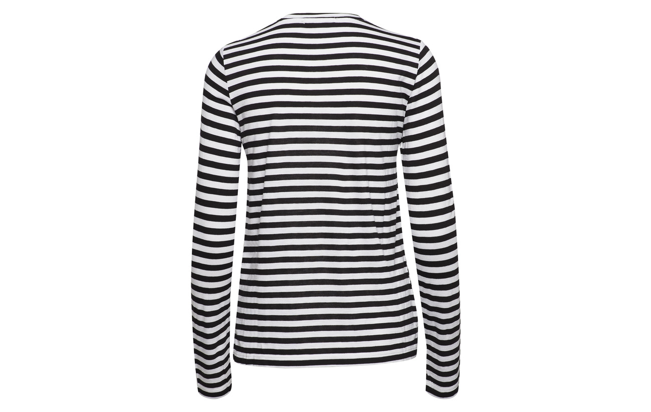 Stripie Viscose Black 70 Stripe 30 Dagmar white Laine ZgdcKWy