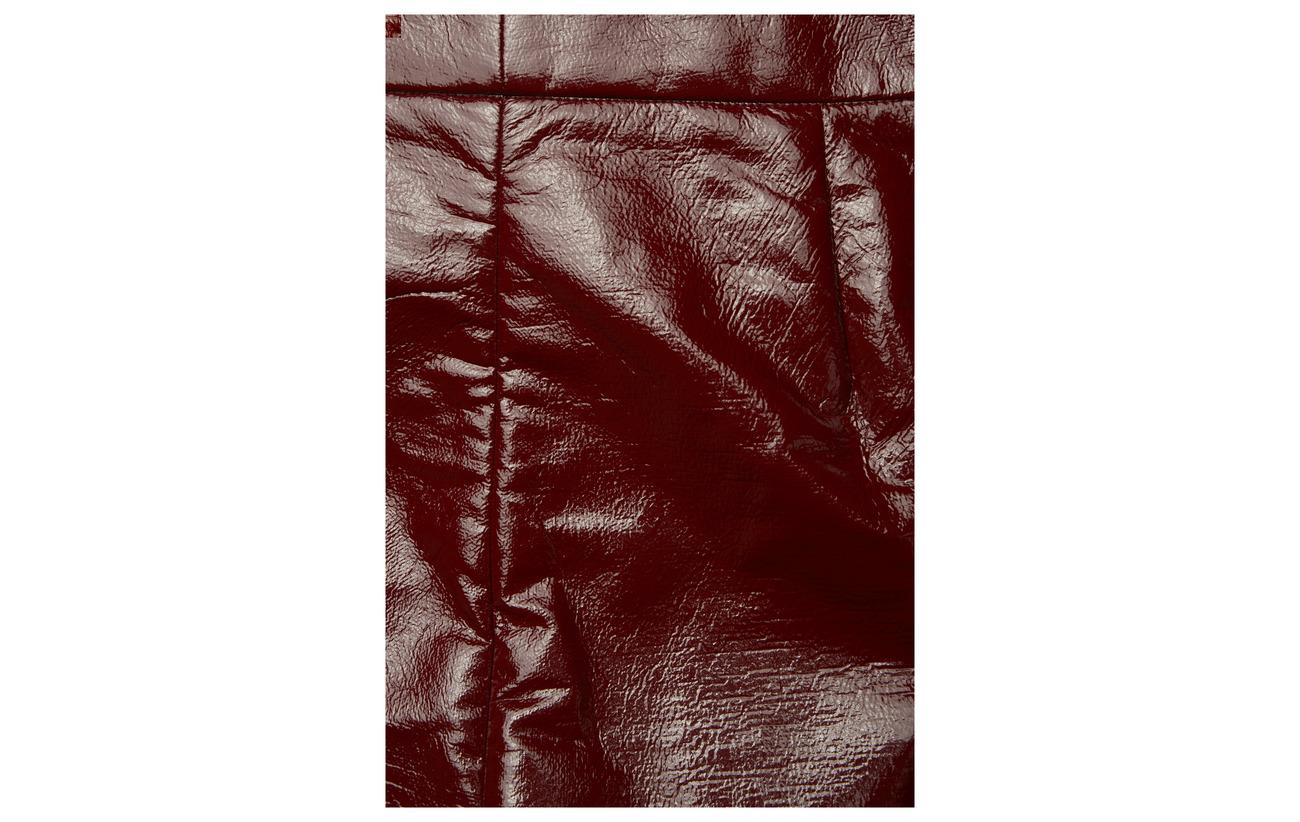 95 Burgundy Hedi Coton 5 Lacquer 29 Équipement Dagmar 7 Intérieure 57 Polyurethane Doublure Polyester Viscose Elastane UxXdEqw1q6